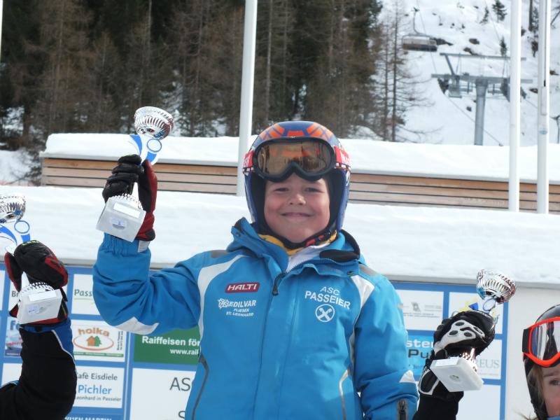Pixner Hannes beim Sieg in Pfelders 2013