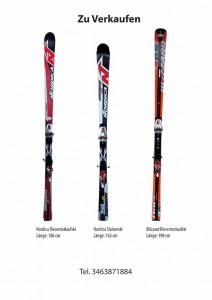 Ski zu verkaufen