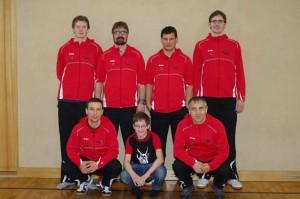 Aufstiegsmannschaft Sektion Tischtennis