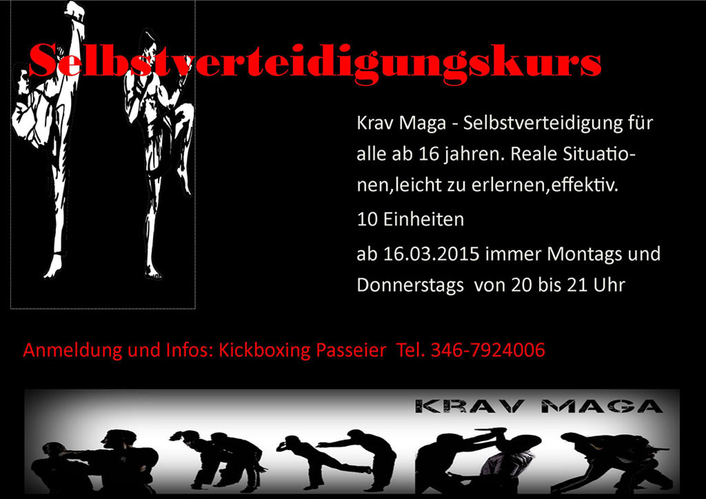 Krav-Maga Selbstverteidigungskurs
