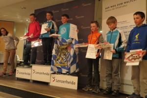 Preisverleihung des Drei-Länder-Rennen